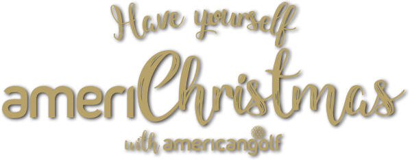 Have yourself ameriChristmas with American Golf