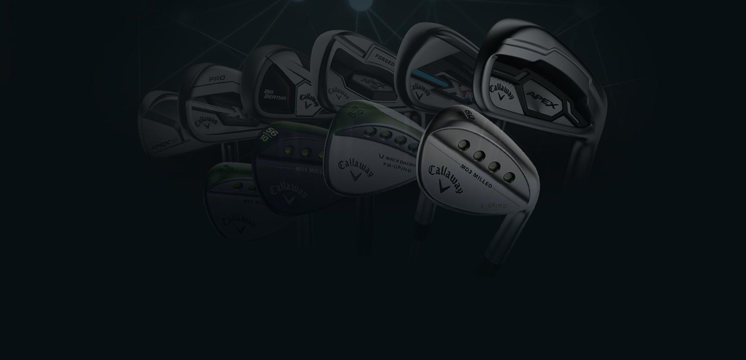 Callway Irons and Wedges
