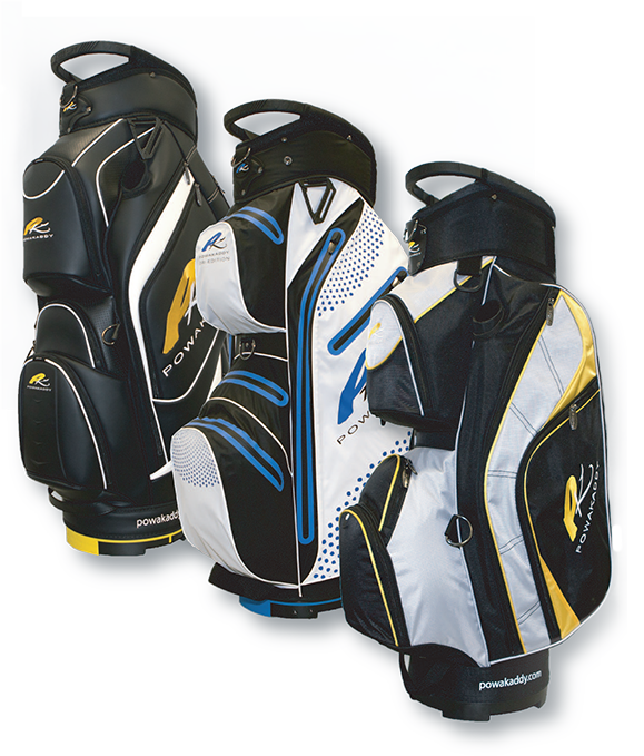 Purchase any PowaKaddy Lithium Electric Golf Trolley and get a PowaKaddy Golf Bag absolutely FREE (worth up to £209.99*)