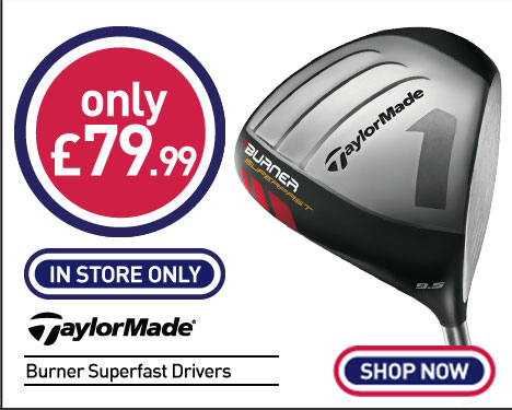 Taylormade Burner Superfast Drivers
