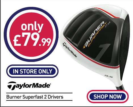 Taylormade Burner Superfast 2 Drivers