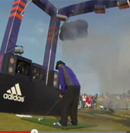 """Video: adidas Golf Weather """"The Storm Challenge"""""""
