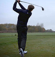 Video: Winter On-course Coaching Tips - Driving off the tee in winter