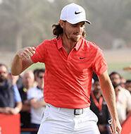 AG News: Back-nine heroics give Fleetwood Abu Dhabi defence