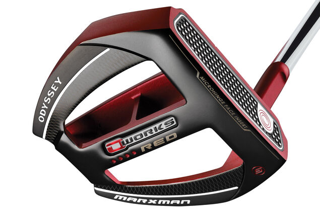 Odyssey O-Works Red MarxmanS SS Putter