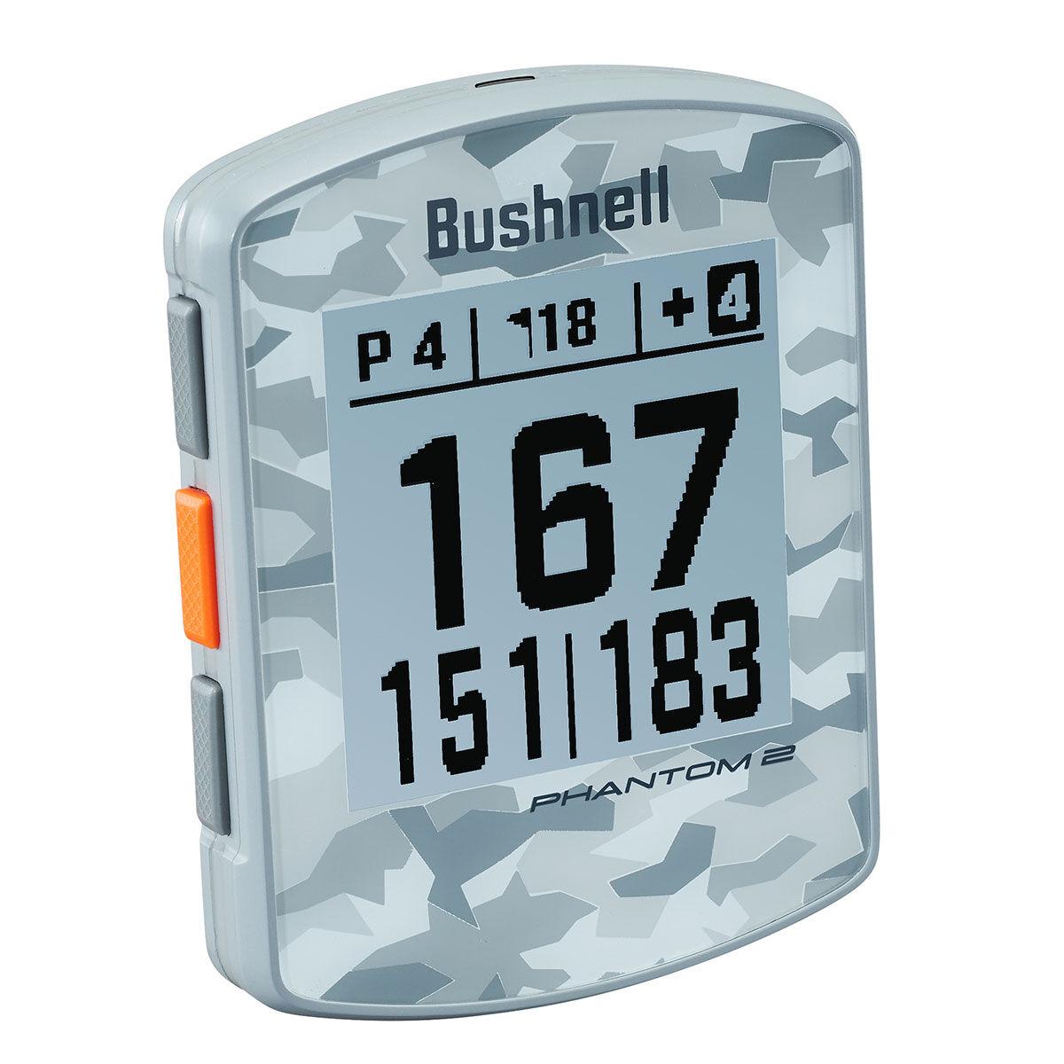 Bushnell Phantom 2 Handheld Golf GPS, Mens, Grey camo, One Size | American Golf