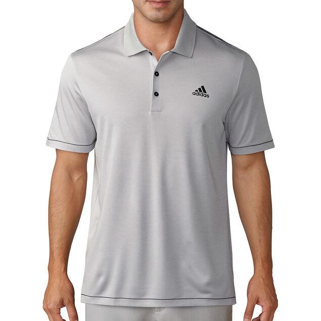 e8337f651117 adidas Golf Heathered Polo Shirt from american golf