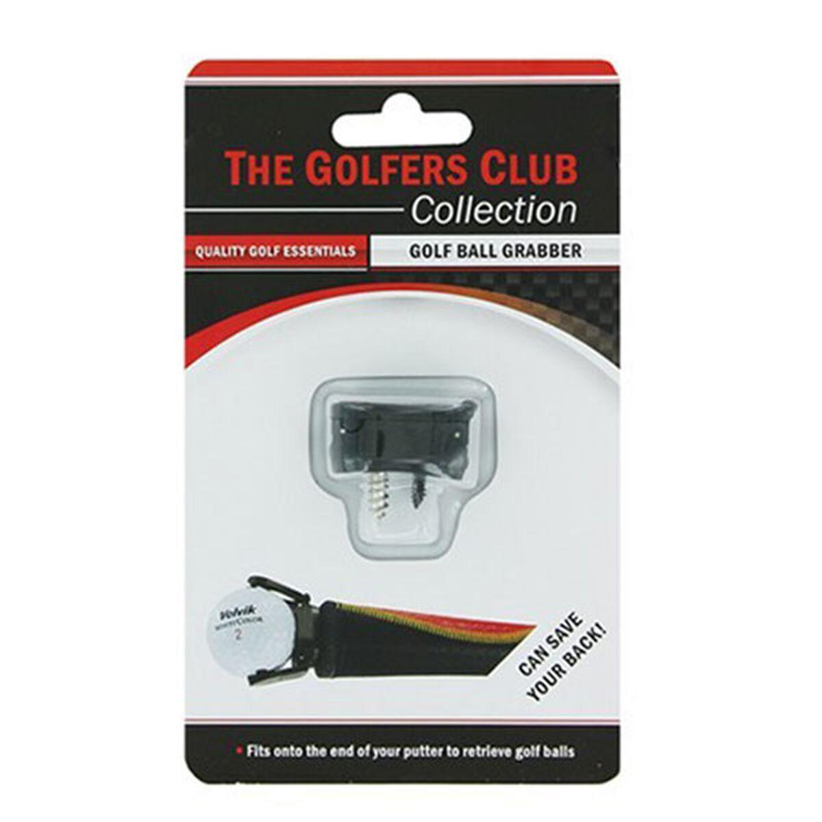The Golfers Club Black Golf Ball Grabber, One Size | American Golf