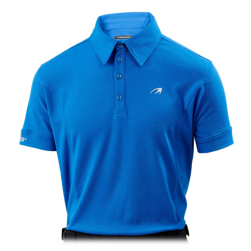 Benross Pro Shell X Polo Shirt Male Blue Large
