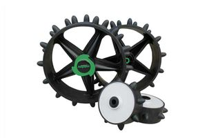 Masters Golf Winter Hoppa Wheels Save your battery and your fairways