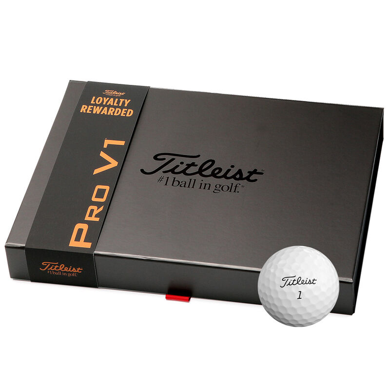 Titleist Pro V1 Loyalty Rewarded 48 Ball Pack Male White