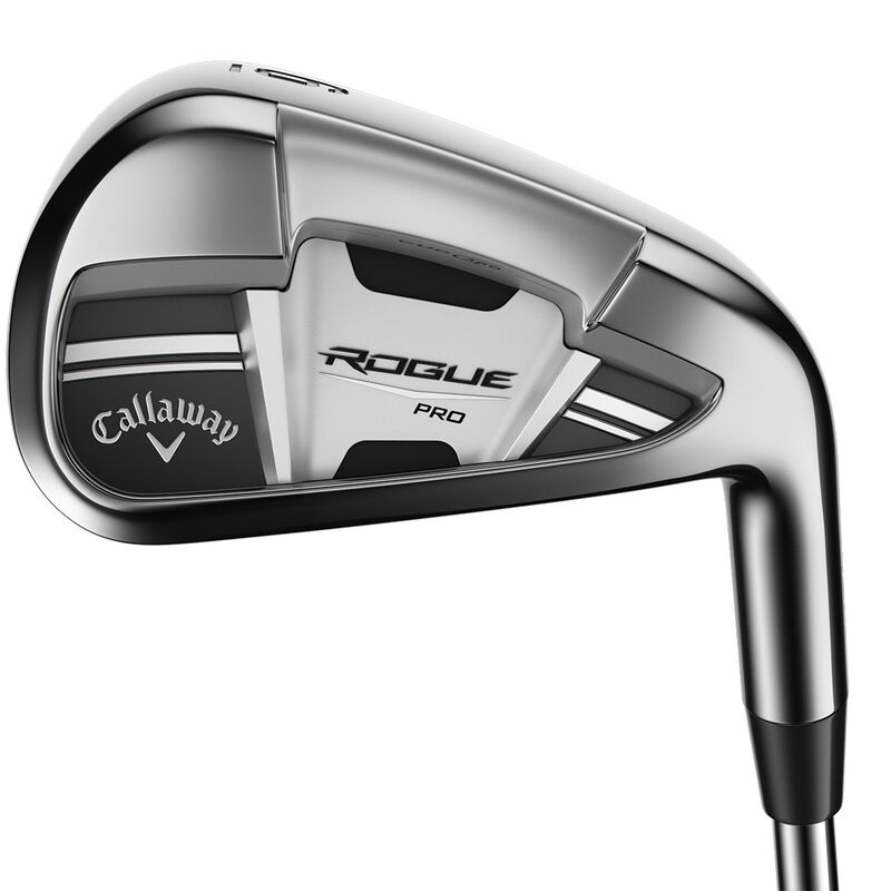 Callaway Golf Rogue Pro Steel Irons Male 5 PW 6 Irons Right Hand Steel Stiff