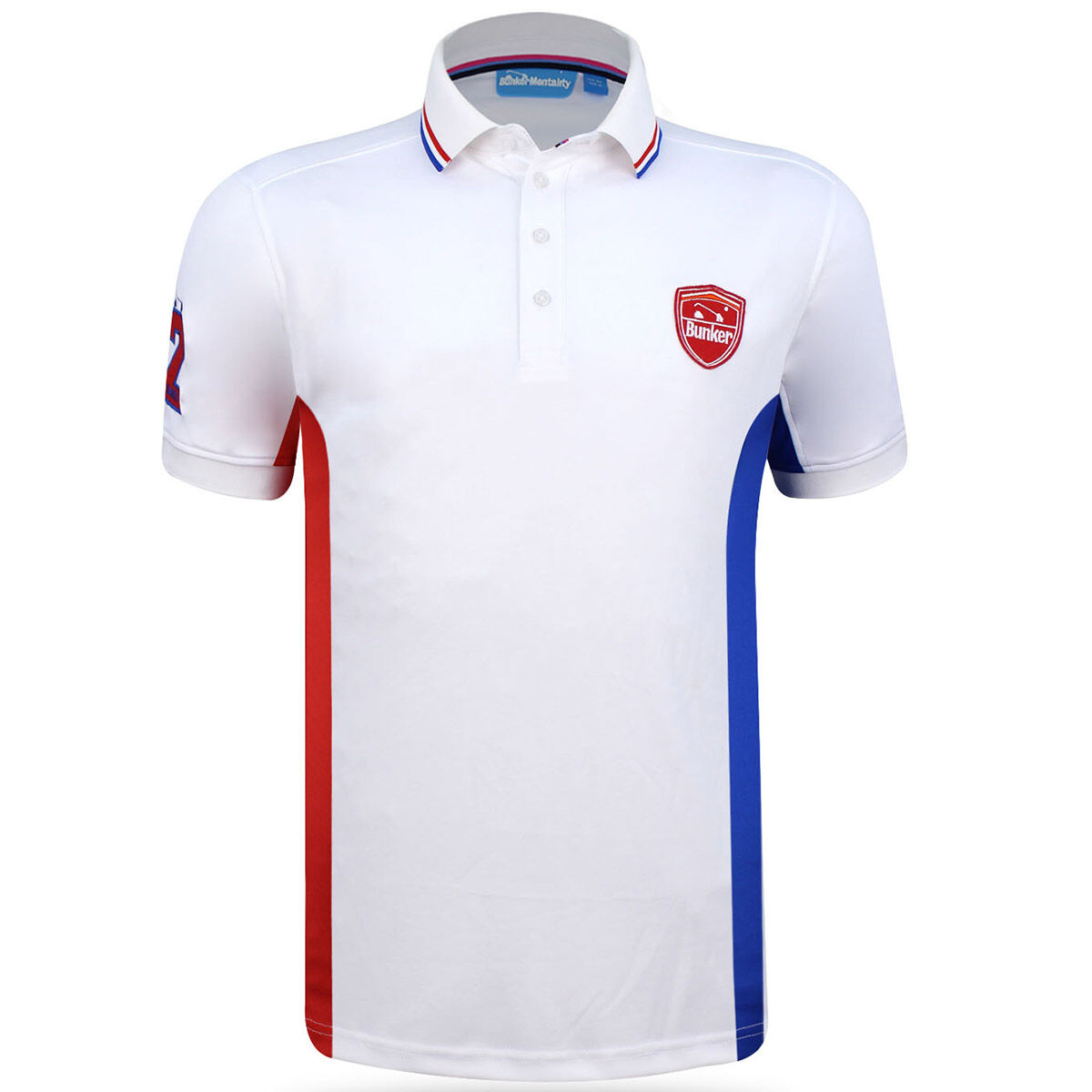 216da2e7 Bunker mentality side stripe polo shirt from american golf jpg 635x635 Polo  shirt side