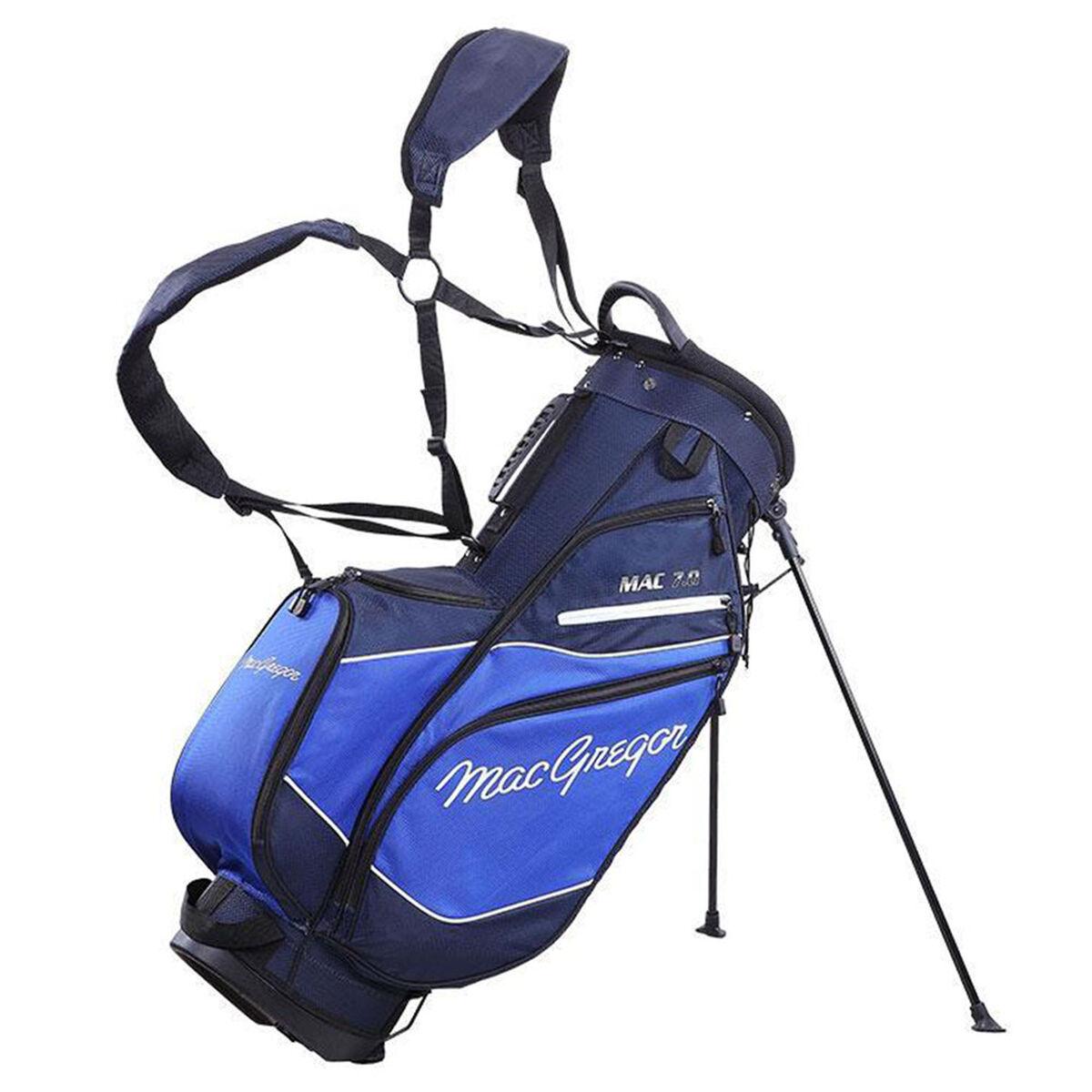 MacGregor MAC 7.0 Golf Stand Bag, Navy/royal   American Golf