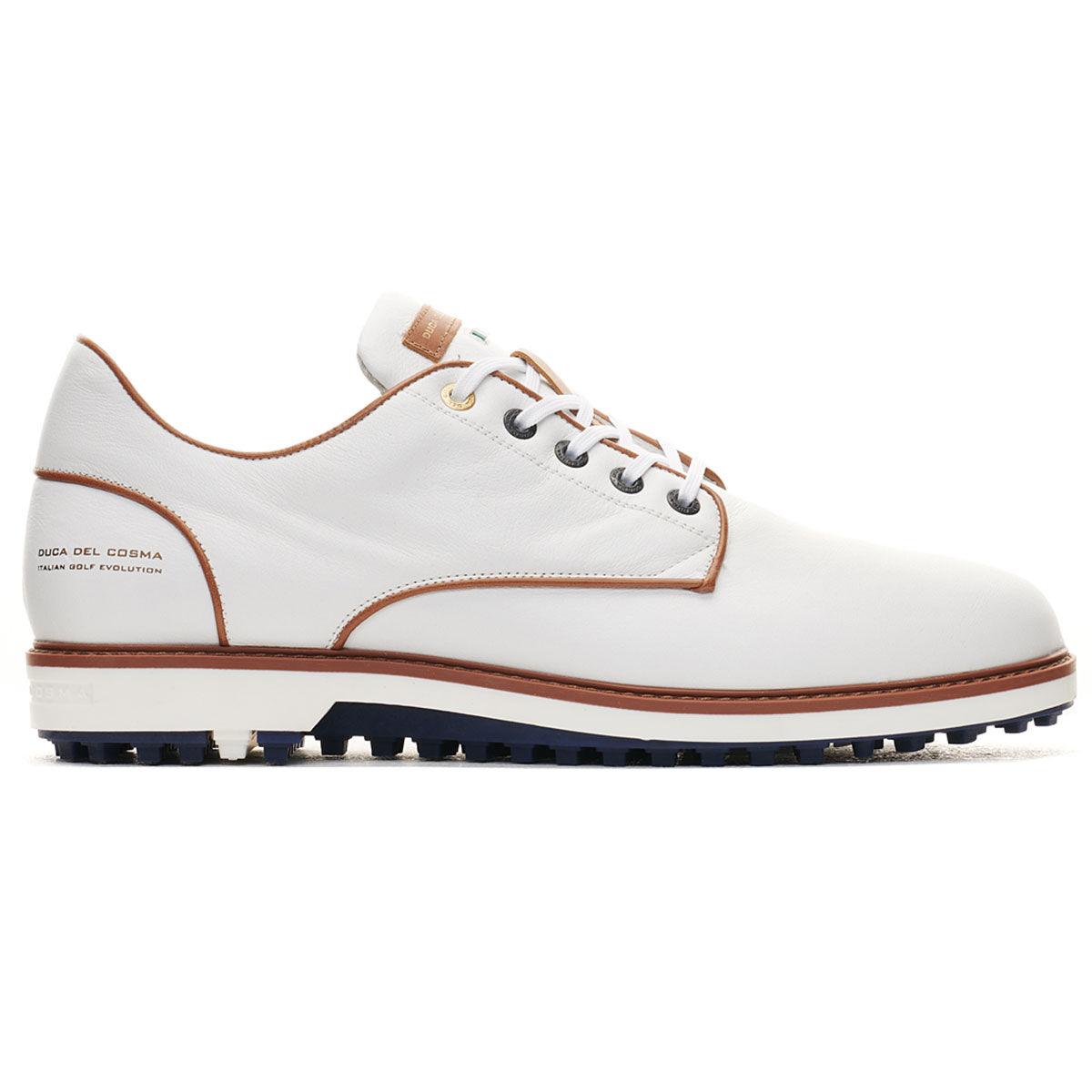 Duca Del Cosma El Paso Golf Shoes, Mens, White, 10   American Golf