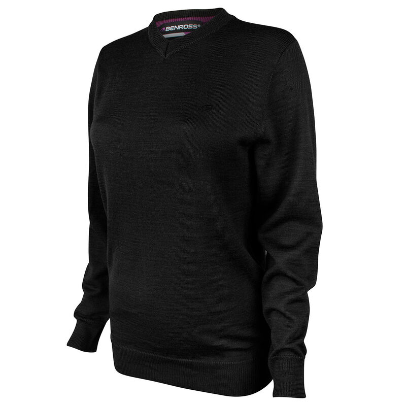 Benross Versailles Ladies Sweater Male Black 10