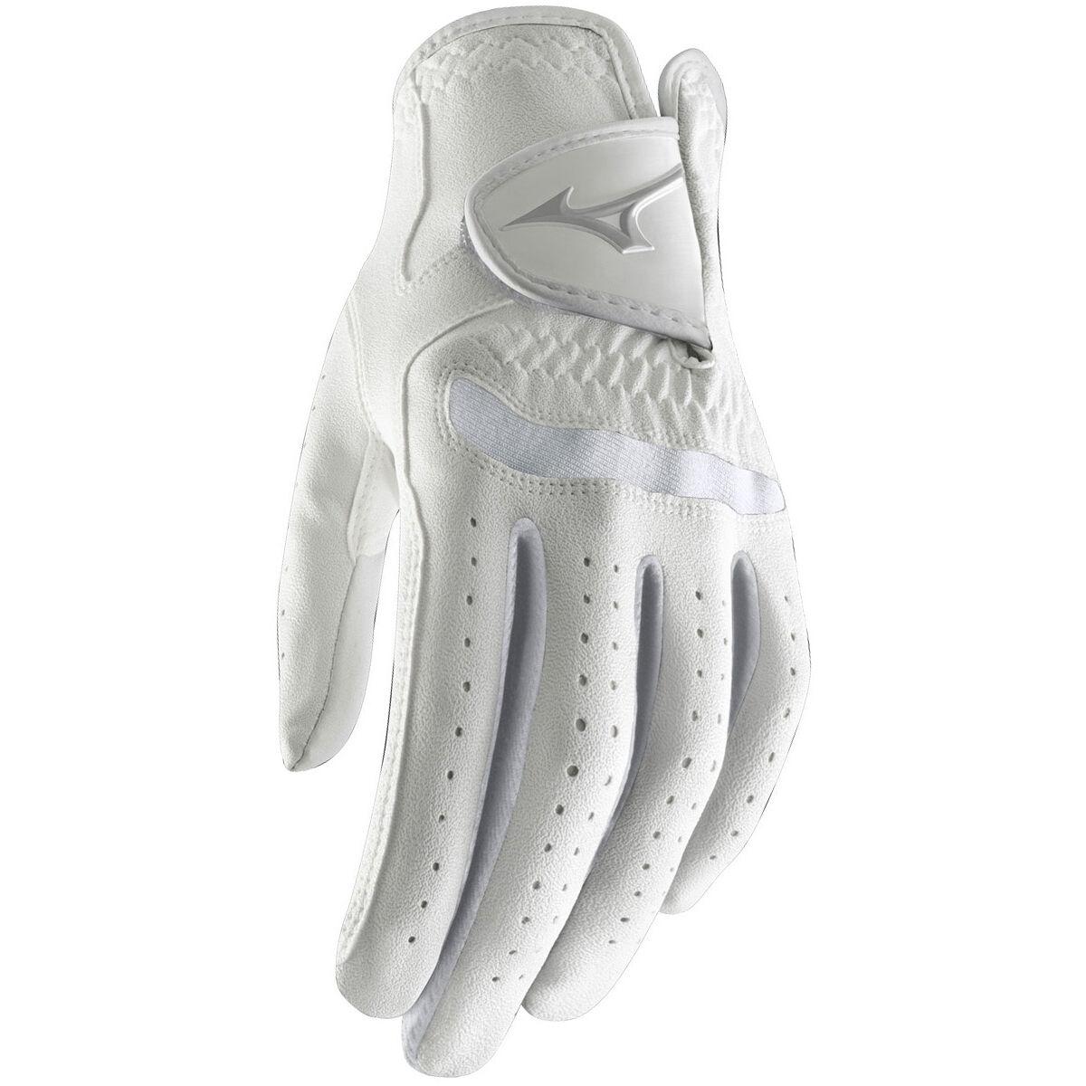 Mizuno Golf Comp Womens Golf Glove, Female, Left hand, Small, White   American Golf