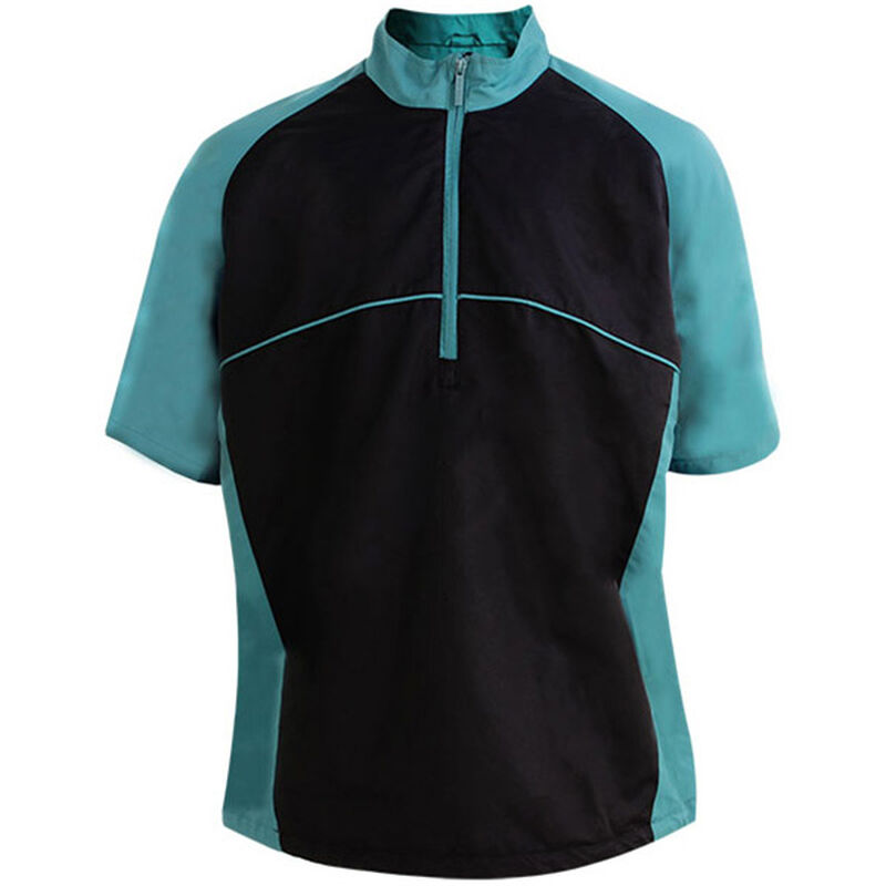 Palm Grove Woven Windshirt Male Teal Large