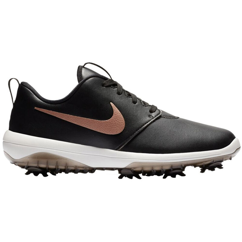 Nike Golf Rosche G Tour Ladies Shoes Female BlackRed BronzeSummit White 5 Regular