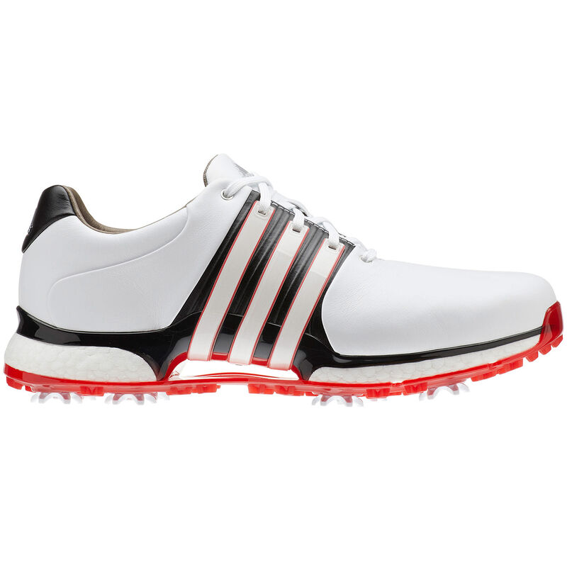 adidas Golf Tour 360 XT Shoe Male WhiteCore BlackScarlet 95 Wide