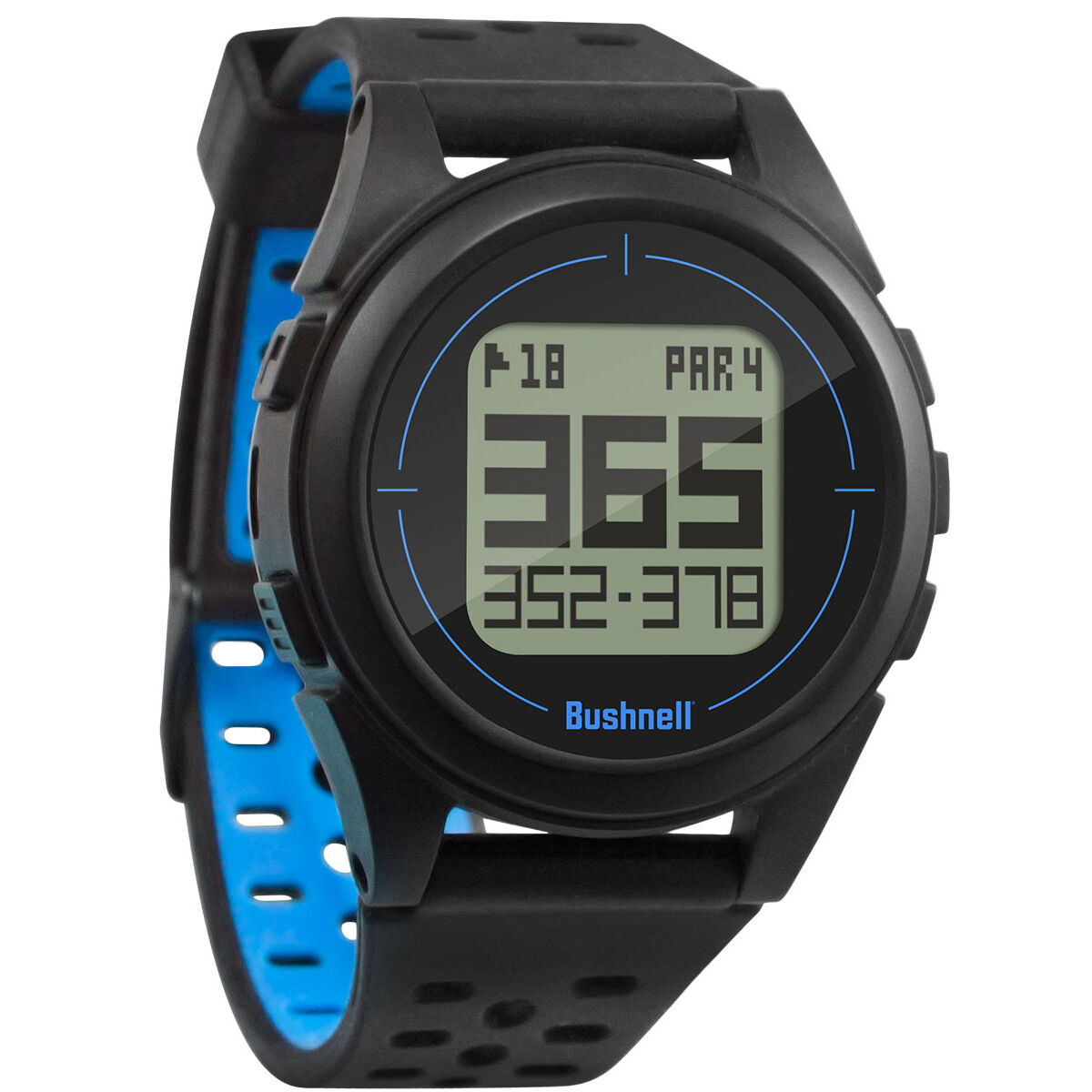 Bushnell iON 2 Golf GPS Watch, Male, Golf GPS, Black/blue | American Golf