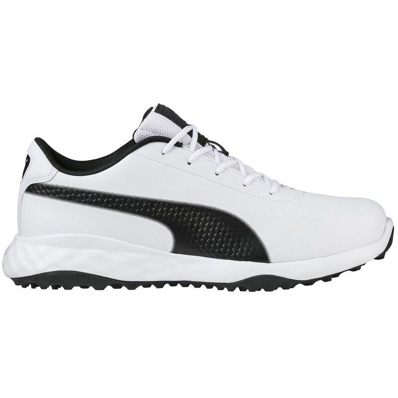 PUMA Golf Grip Fusion Classic Shoes Male WhiteBlack 7