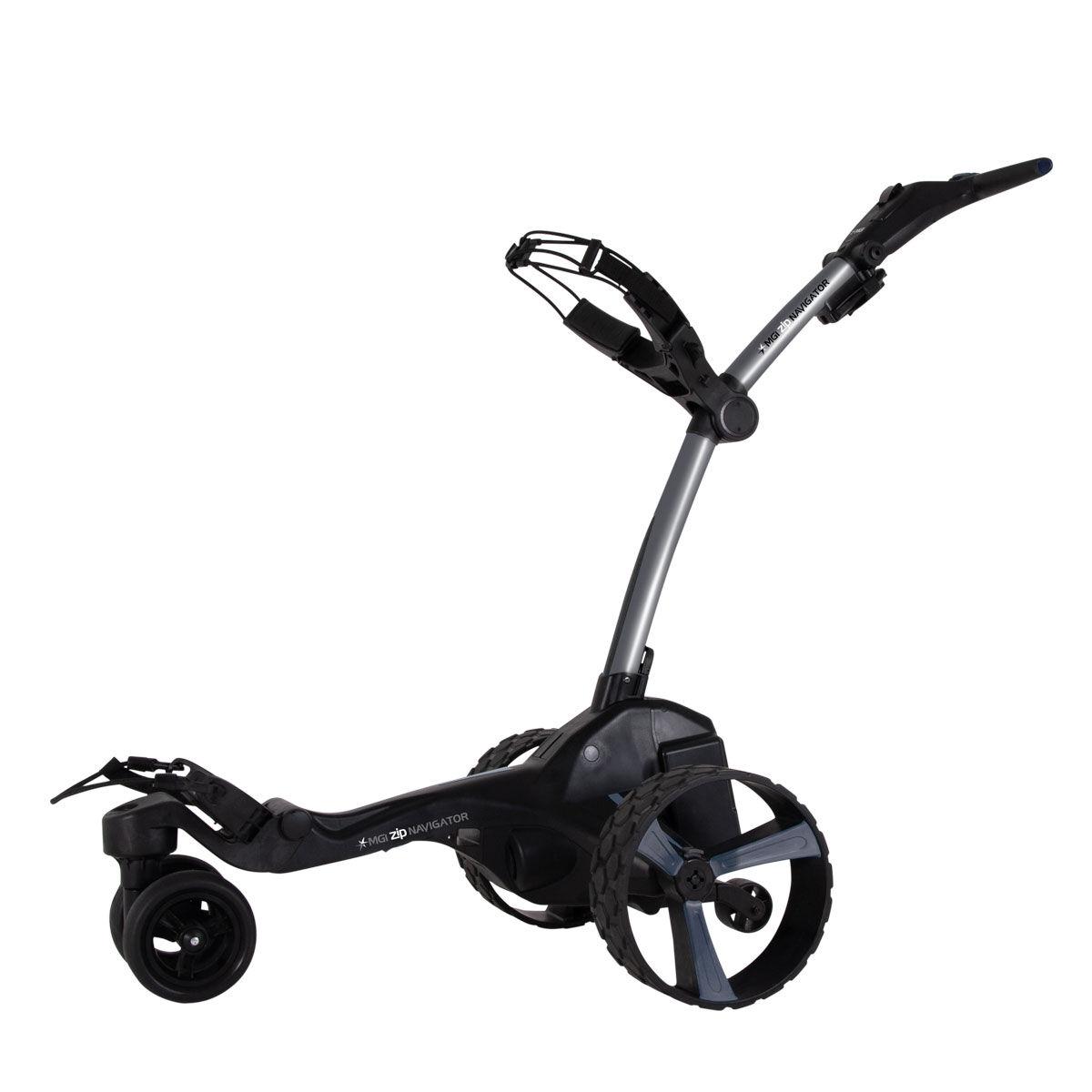 """MGI Golf Grey Zip Navigator Remote Control Lithium Electric Golf Trolley, Size: 27.55x18.5x16.5""""   American Golf   American Golf"""