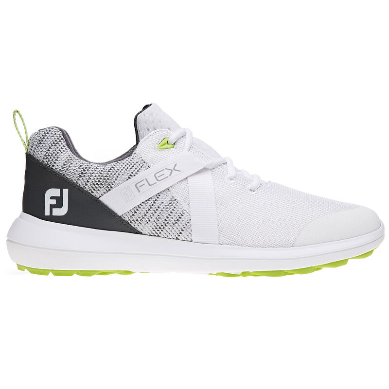 FootJoy Flex Shoes Male WhiteGrey 8 Regular
