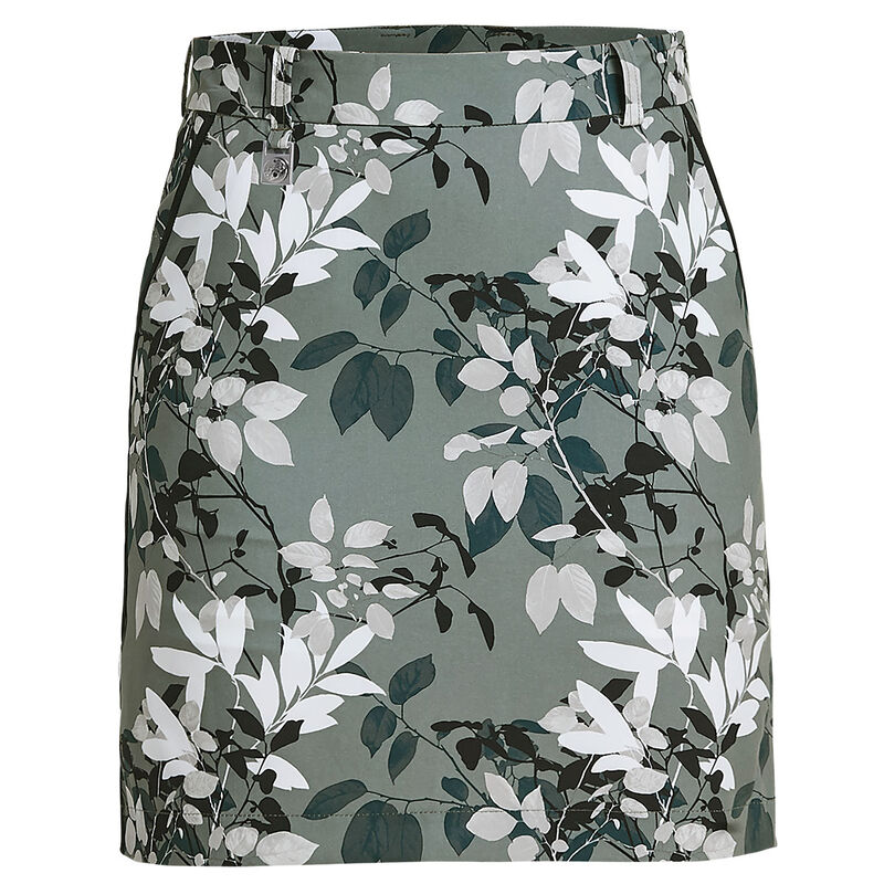 Röhnisch Kia Ladies Skort Female Green Leaves 12