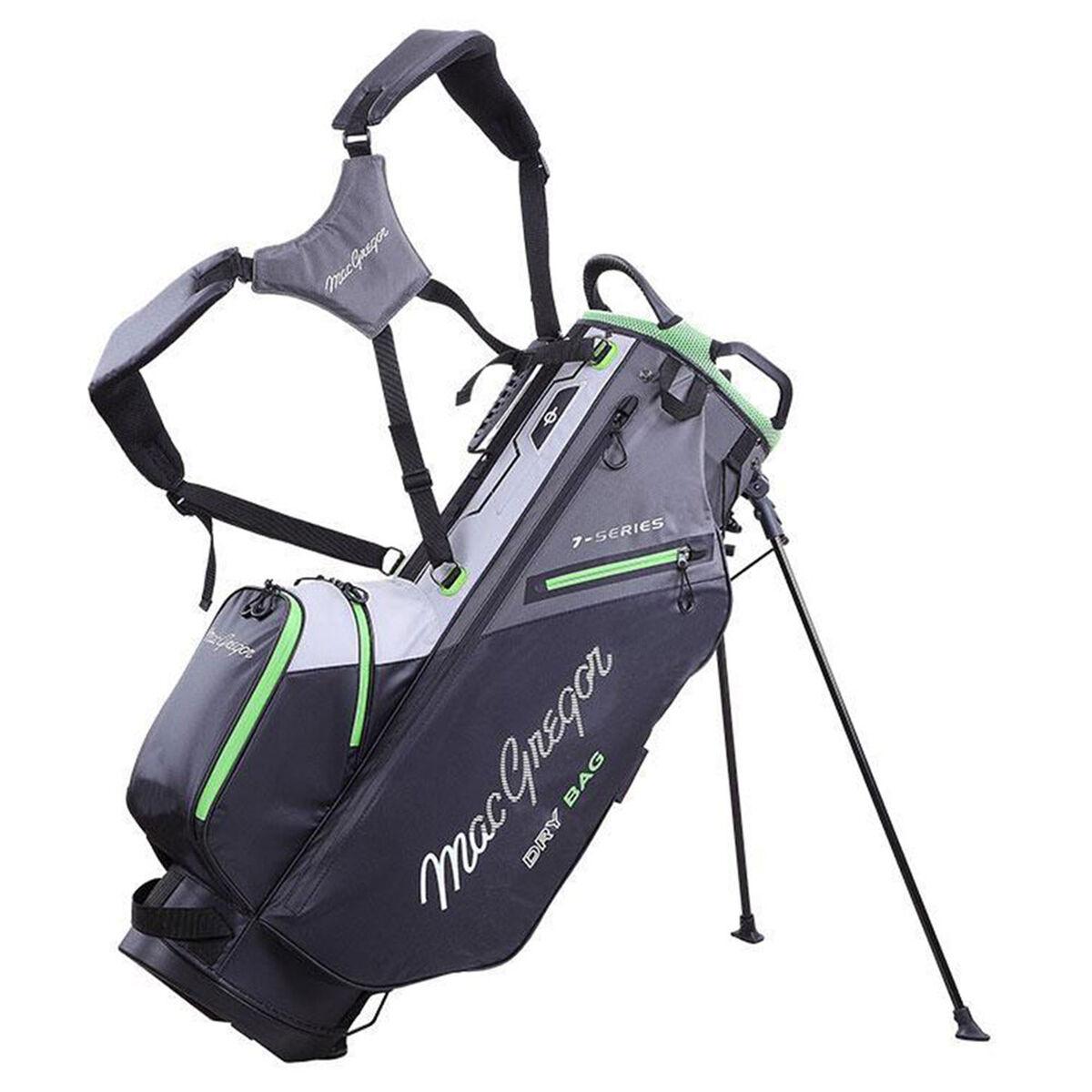 MacGregor 7-Series Water-Resistant Golf Stand Bag, Black/grey   American Golf