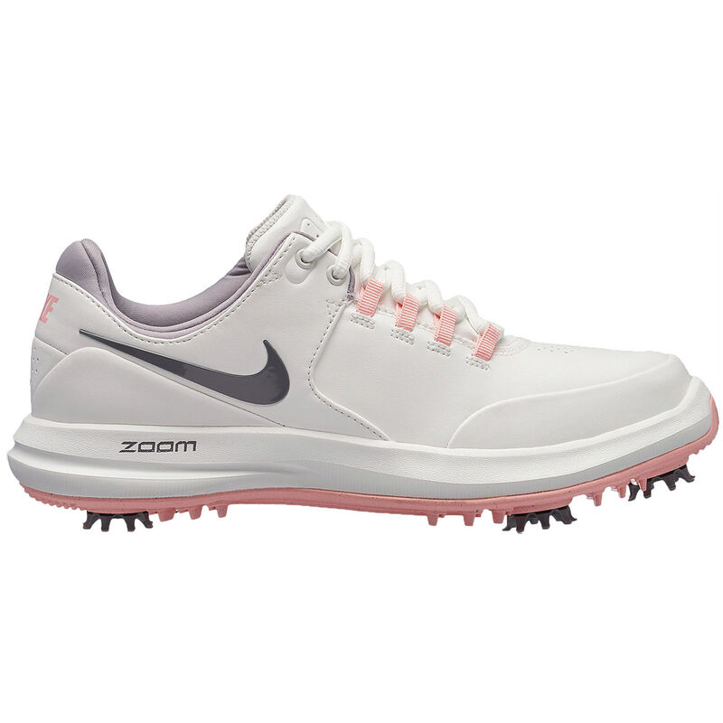 Nike Golf Air Zoom Accurate Ladies Shoes Female WhiteGunsmokeBleached Coral 4
