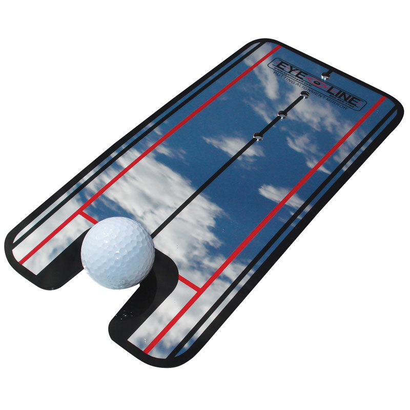 Masters Putting Alignment Mirror Male Black One Size