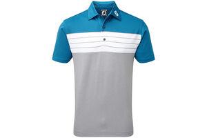 FootJoy Pique Colour Block Polo Shirt