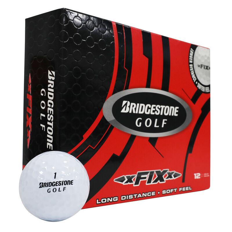 Bridgestone Golf xFIXx 12 Ball Pack Male White