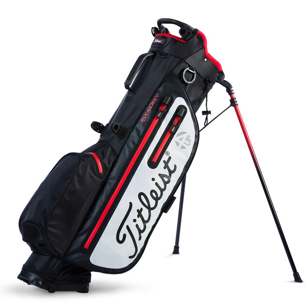 titleist players 4up stadry stand bag from american golf