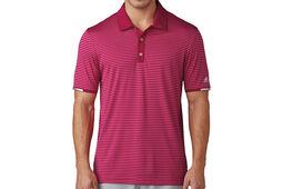 adidas Golf climachill Tonal Striped Polo Shirt