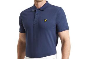 Lyle & Scott Kelso Tech Pique Polo Shirt