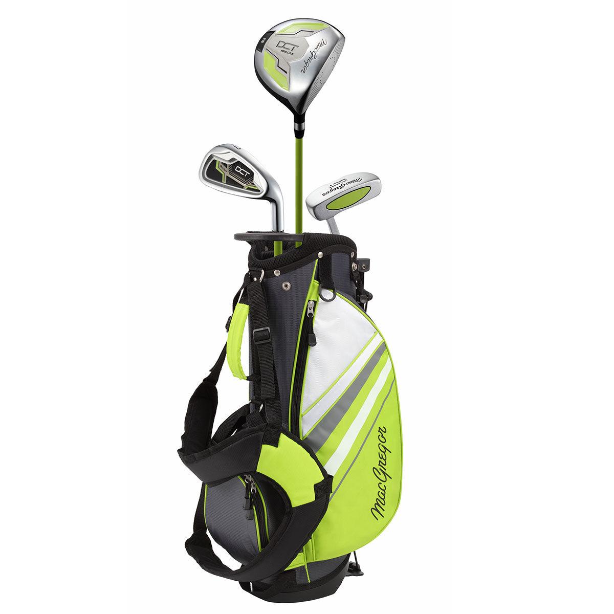 MacGregor DCT 3-5 Junior Golf Package Set, Unisex, Right hand, Green   American Golf