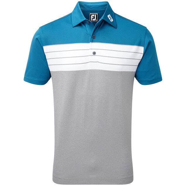 07e24d9e FootJoy Pique Colour Block Polo Shirt from american golf