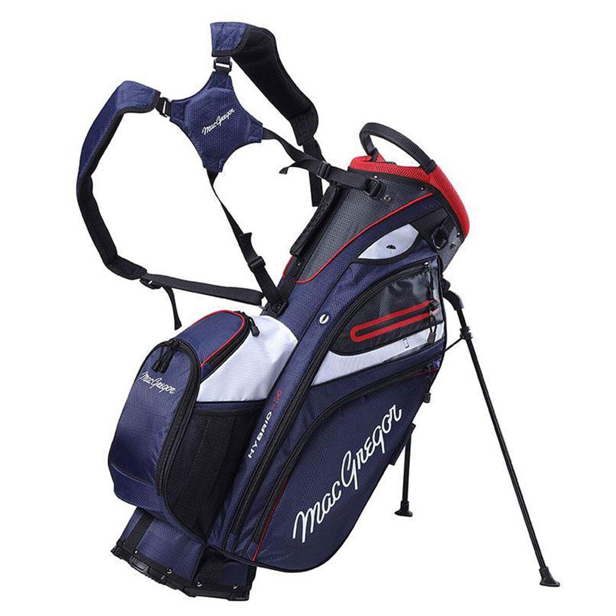 MacGregor Hybrid 14 Golf Stand Bag, Navy   American Golf