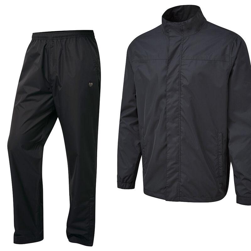 Palm Grove Waterproof Suit Male Black XXL