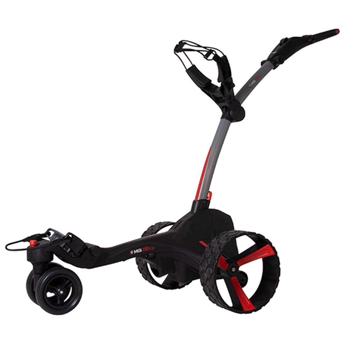 MGI Zip X3 Lithium Electric Golf Trolley, Titanium grey   American Golf