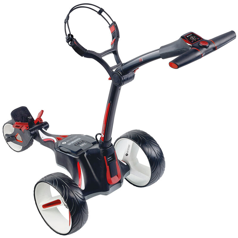 Motocaddy M1 Extended Range Lithium Electric Trolley Male Black