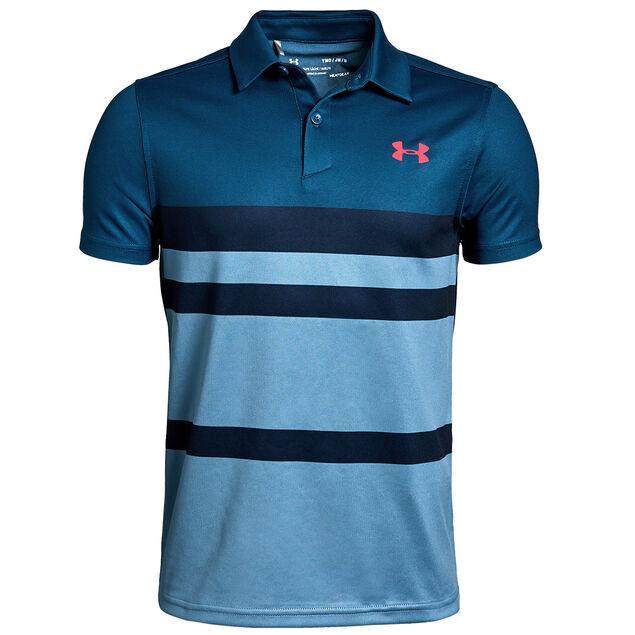 3d917d39 Under Armour Threadborne Engineered Junior Polo Shirt from american golf