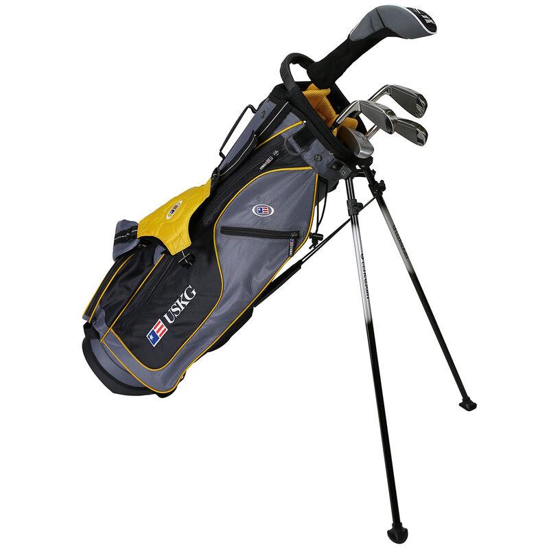 US Kids Gold Starter Golf Set 11 13 Years