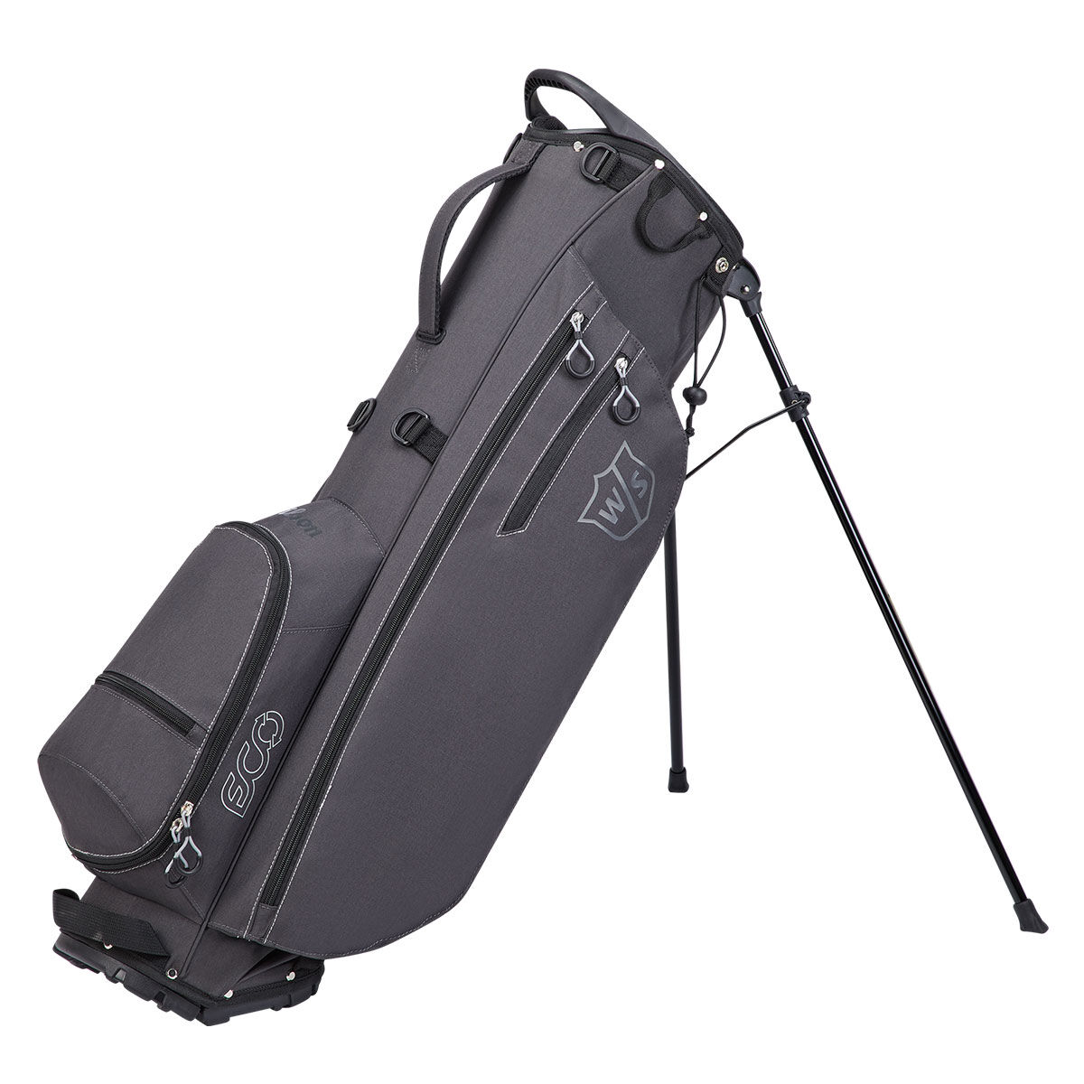 Wilson Staff ECO Carry Bag, Male, Grey, One Size | American Golf