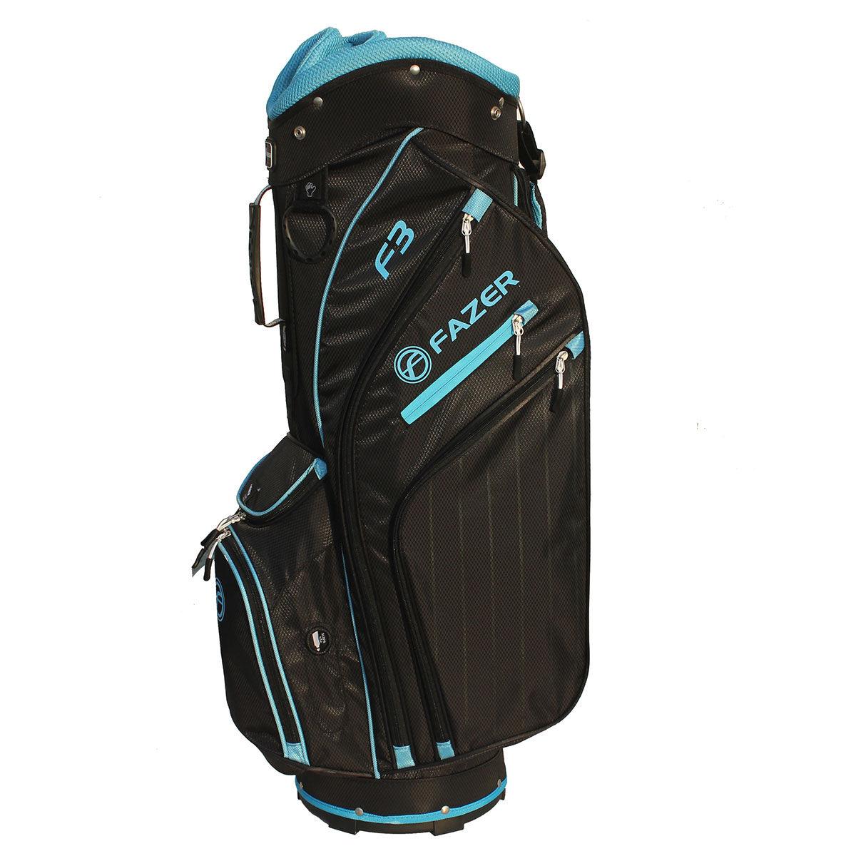 Fazer F3 Ladies Golf Cart Bag, Female, Black/Light Blue