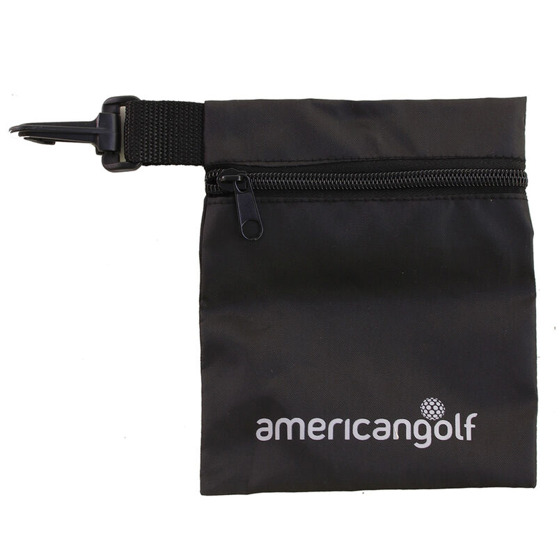 American Golf Valuables Pouch Male Black