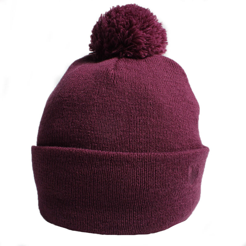 Palm Grove Knitted Ladies Beanie Female Amaranth One Size