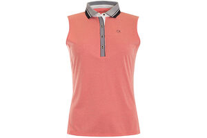 Calvin Klein Marlstone Sleeveless Ladies Polo Shirt